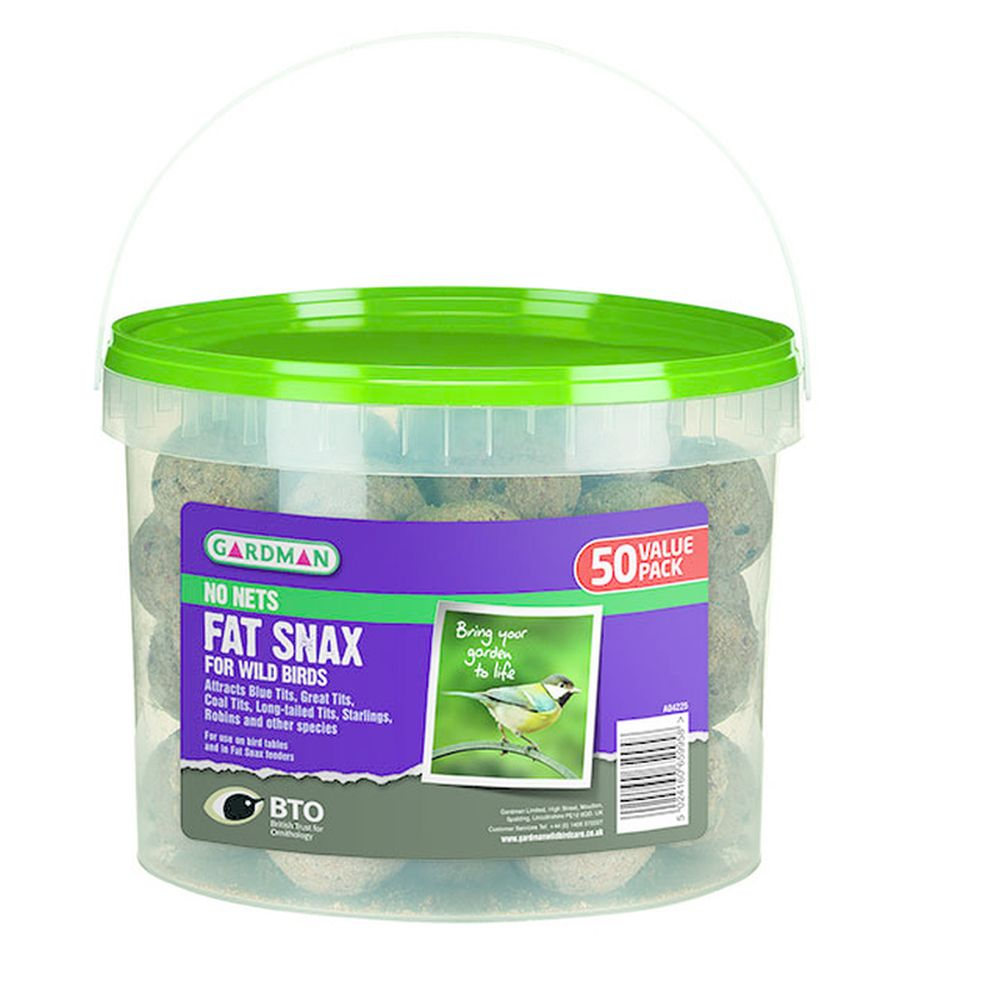 No Nets Fat Snax 50 Tub 50 Pack