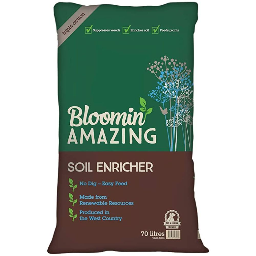 Bloomin Amazing Soil Enricher - 3 in 1 Compost - 70L