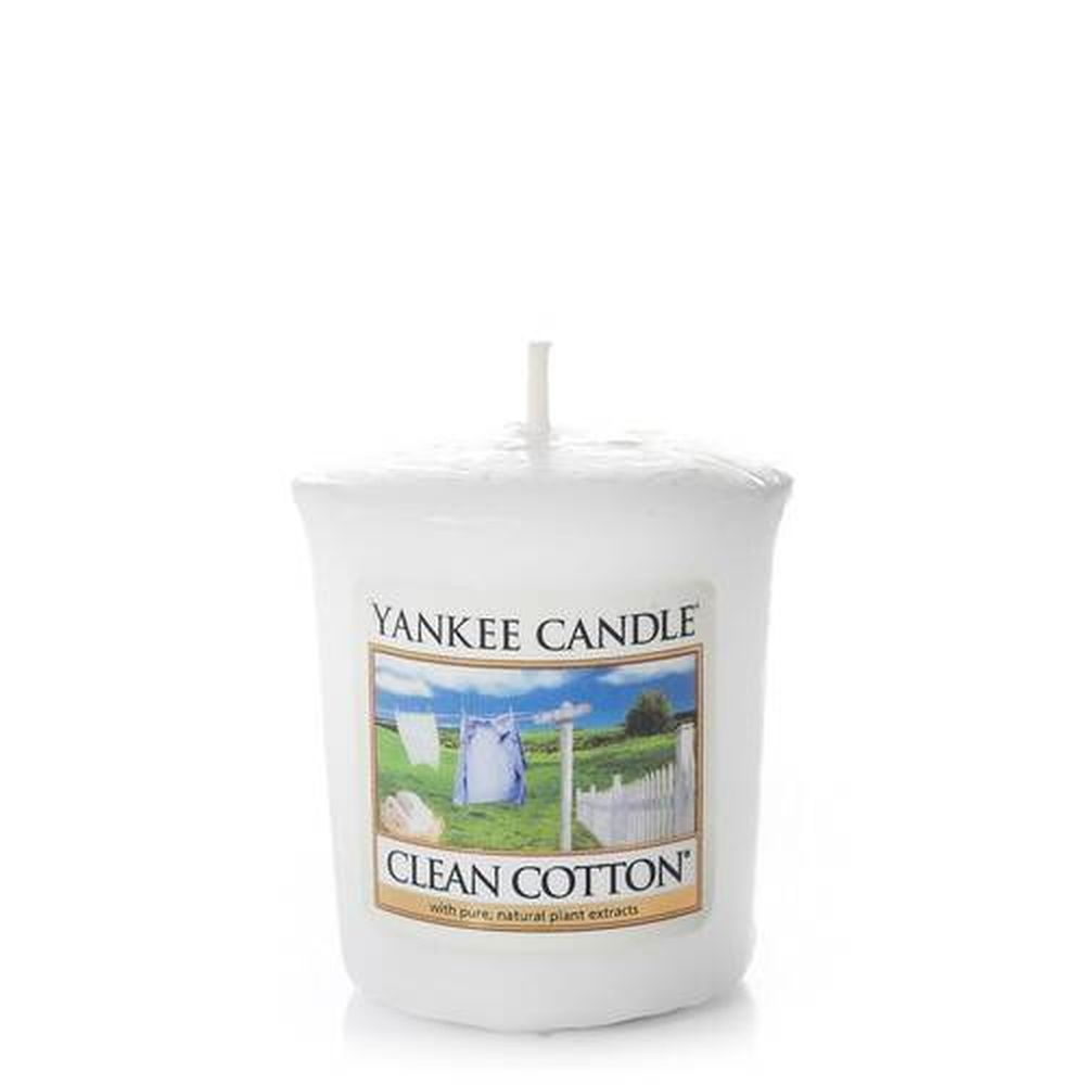 Clean Cotton votive