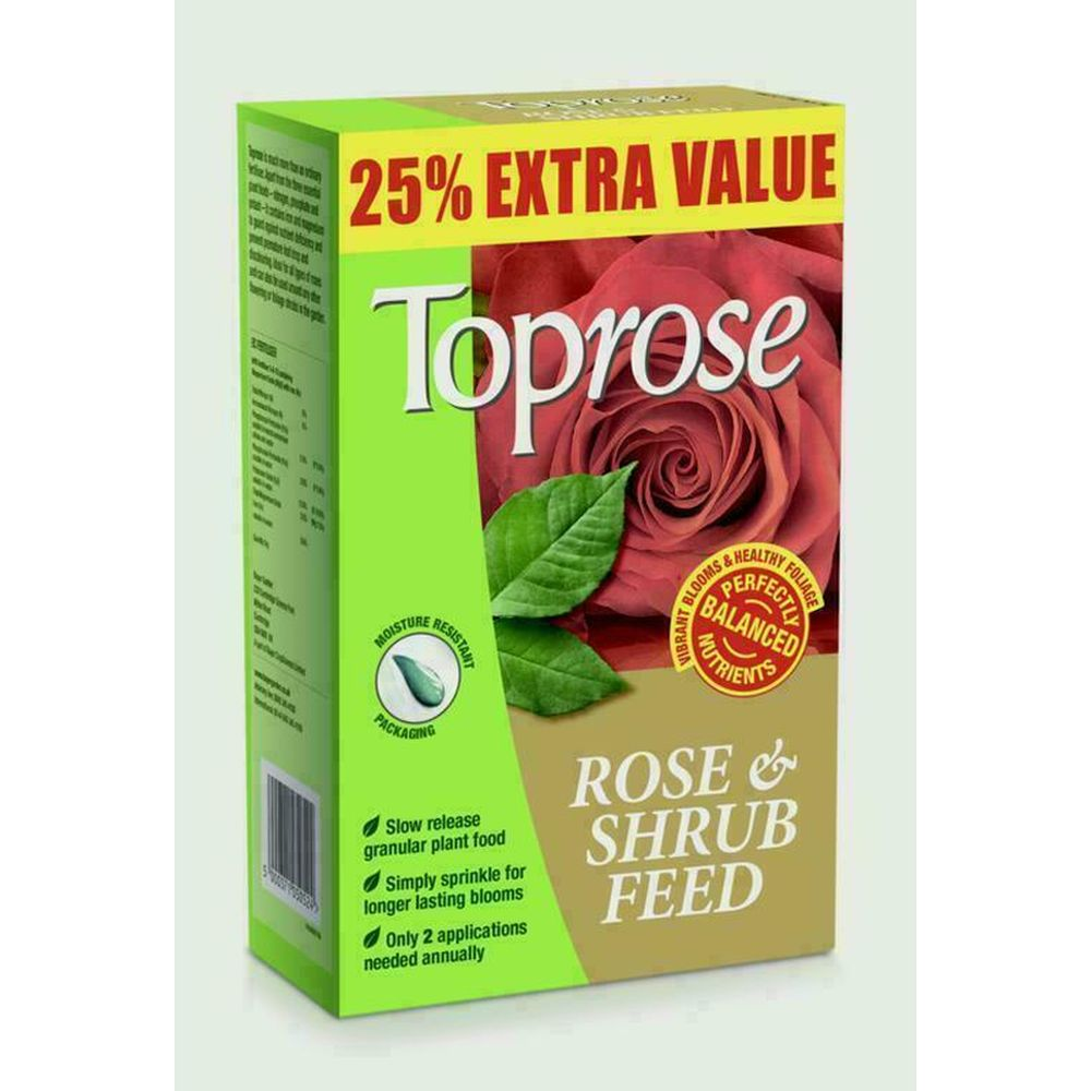 Toprose Rose & Shrub Feed 1.25kg