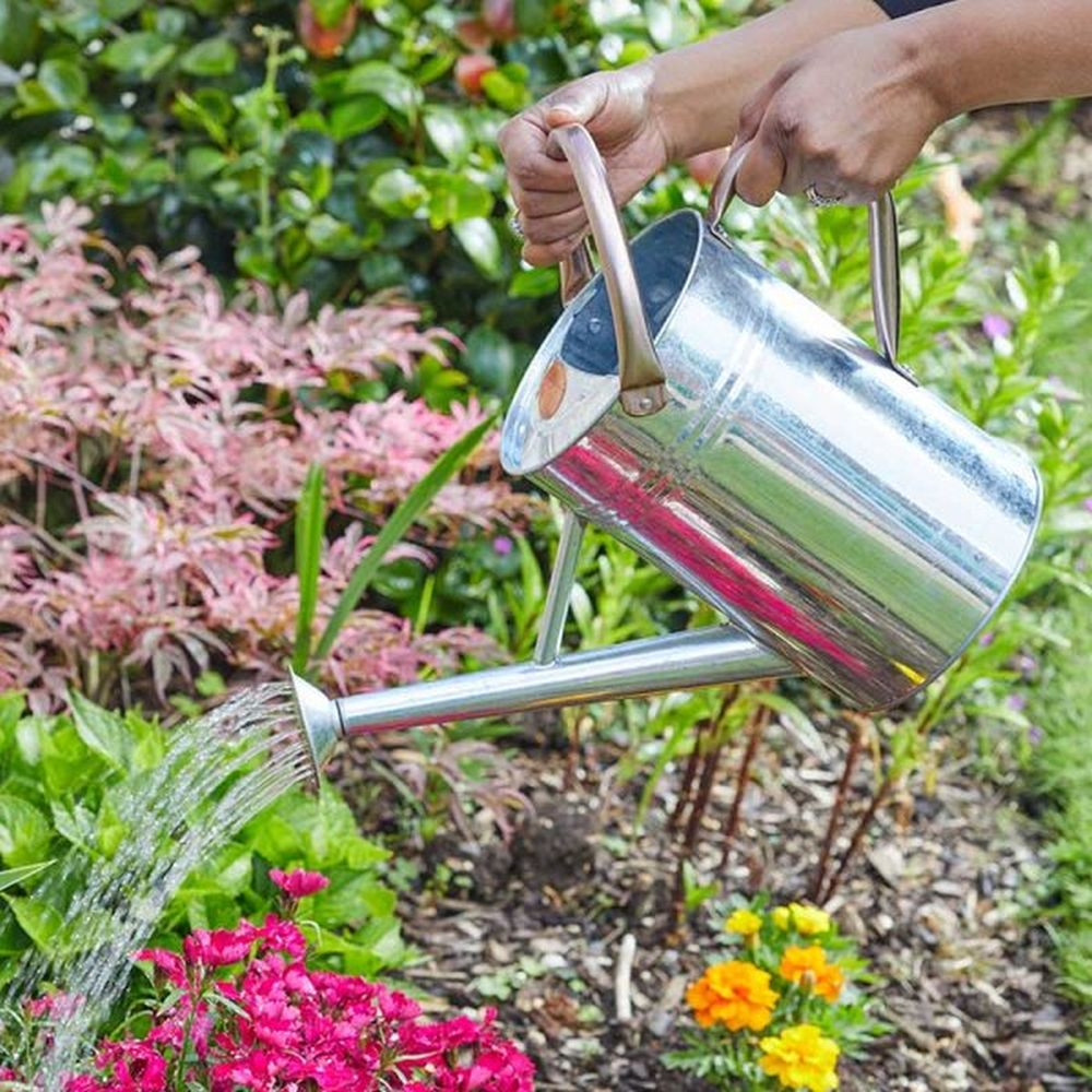 Watering Can - Galvanised Steel 4.5L