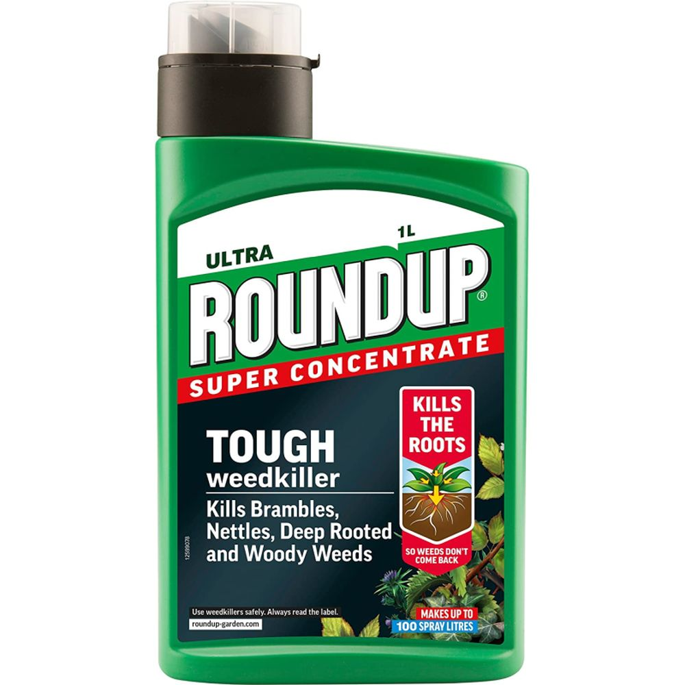 Roundup Concentrate TOUGH Weedkiller 1lt